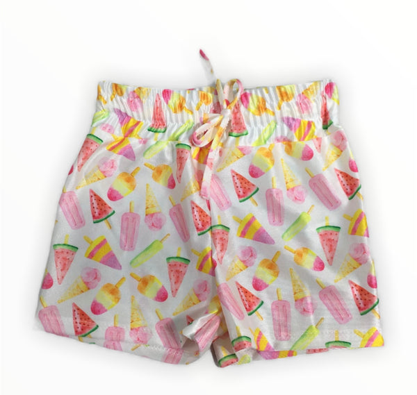 Lolly pop print swimming trunks