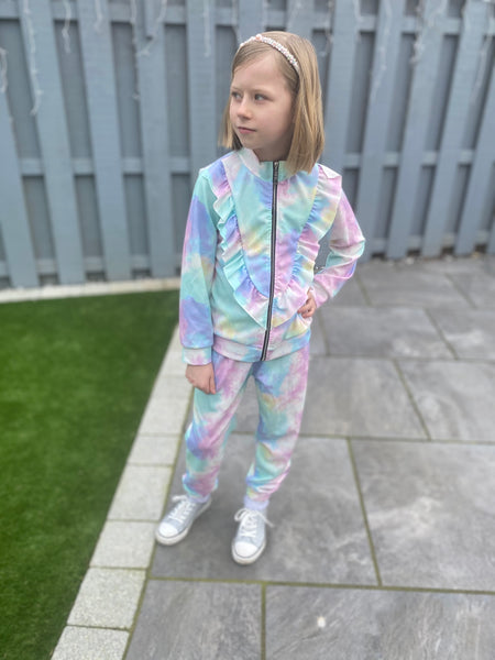 Unicorn zip up tracksuit
