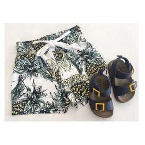 boys tropical swimming shorts