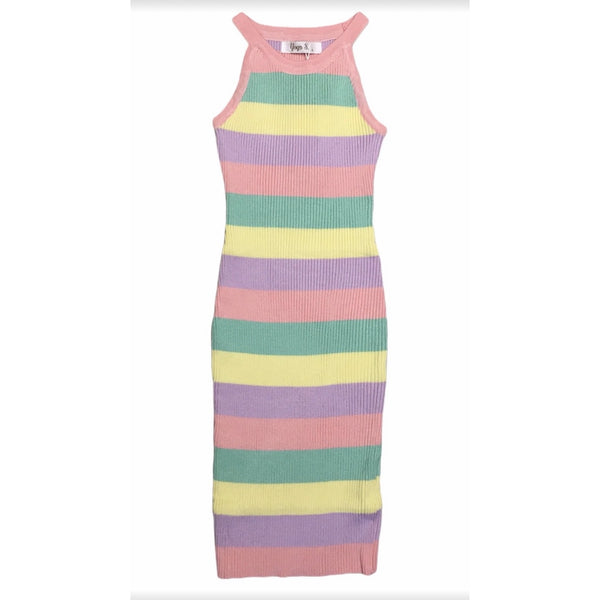 Fitted Rainbow dress