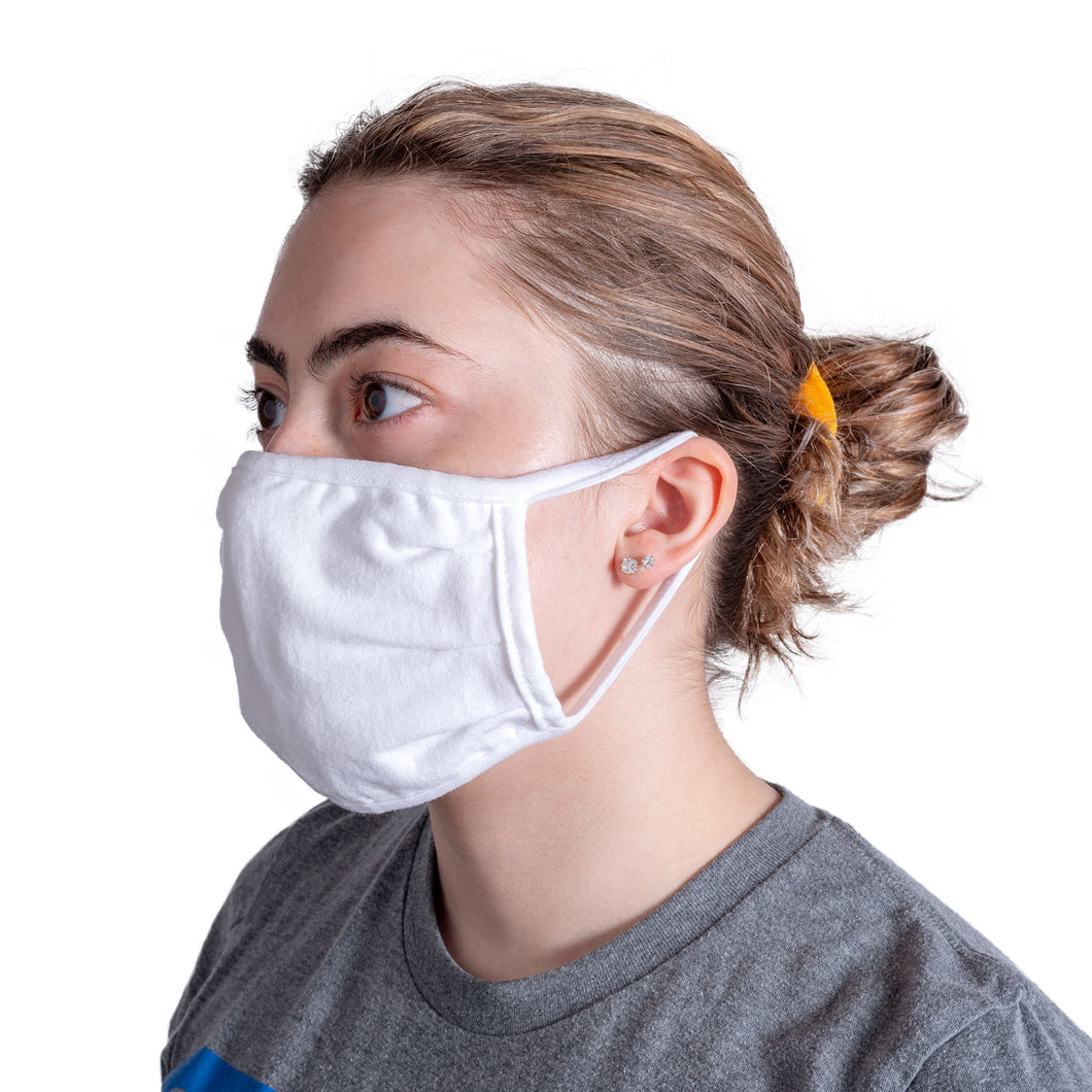 Reusable Cloth Face Masks - 100 Pack