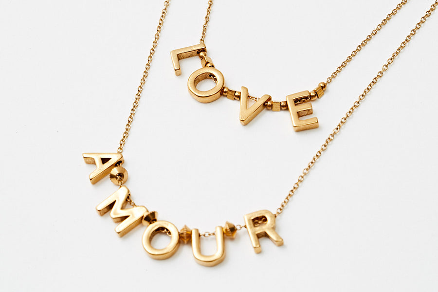 Collier Love & Amour