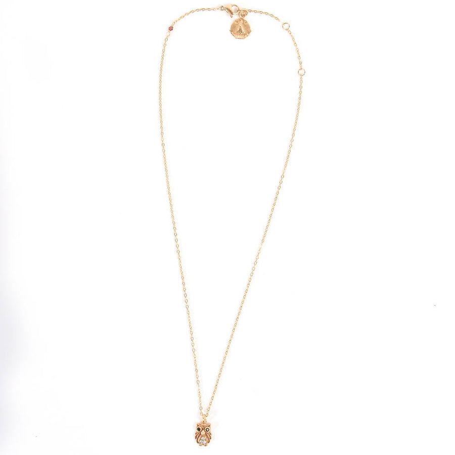 Collier Hiboux or
