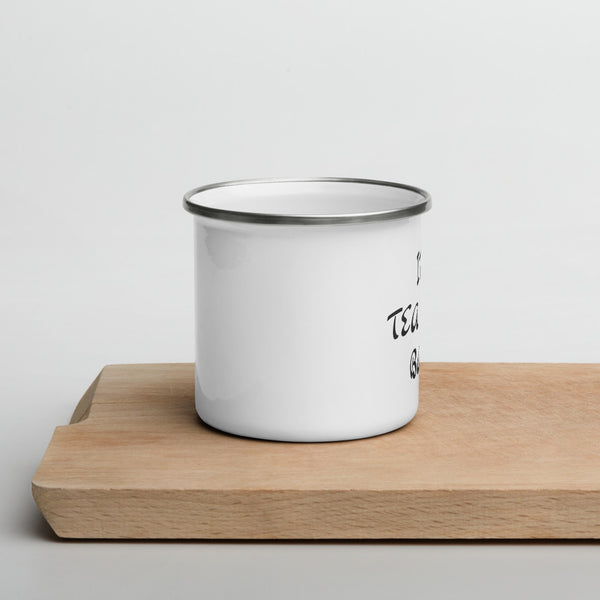 Tea Time Enamel Mug