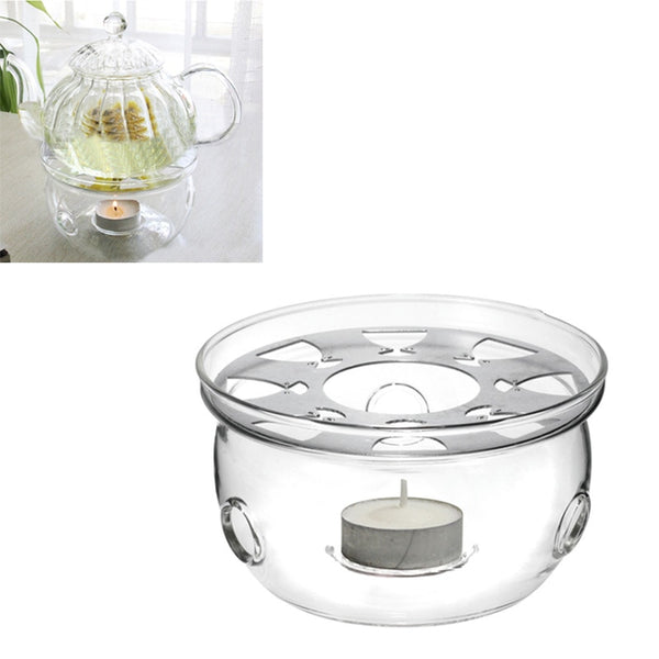 Glass Teapot Warmer Tea