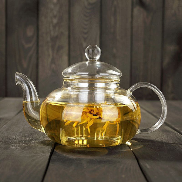 Glass Teapot Infuser Tea Elegant