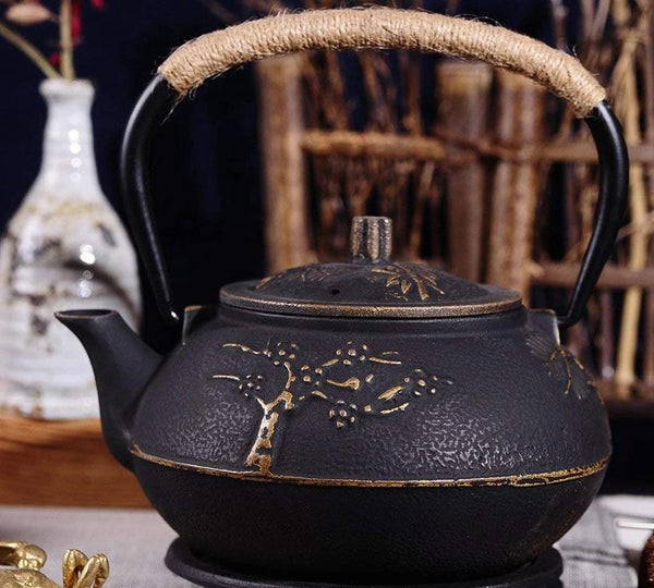 Cast Iron Teapot Tea Pot