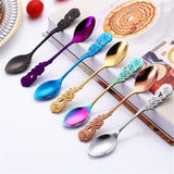 Flower Handle Tea Spoon
