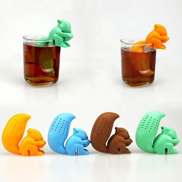 Squirrel Tea Infuser Kawaii