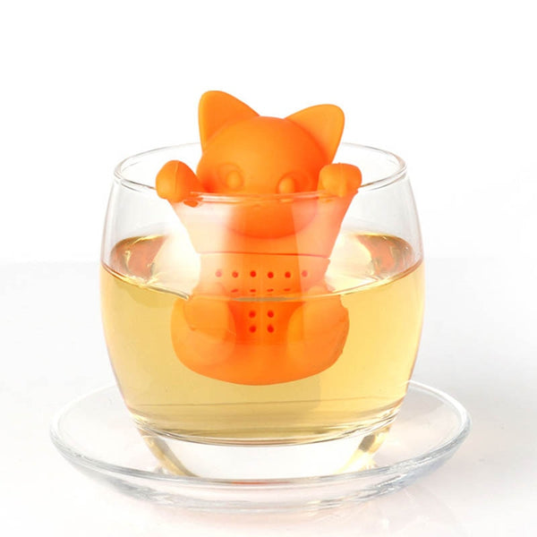 Kitten Kitty Hang In There Tea Infuser Kawaii