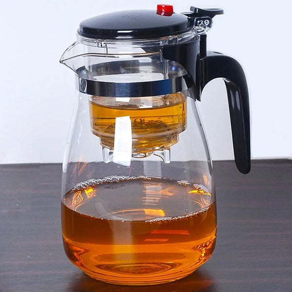 Heat Resistant Glass Teapot Tea Pot Infuser