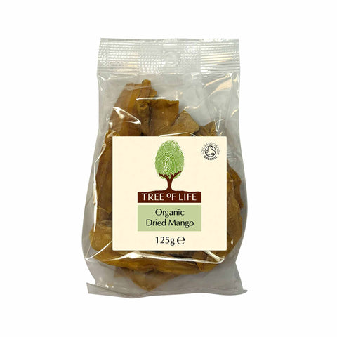 Packshot - Organic Dried Mango by Tree of Life