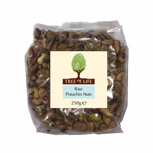 Packshot - Raw Pistachio Nuts by Tree of Life