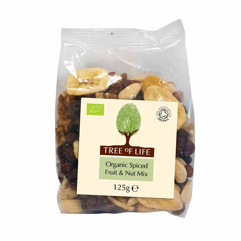 Packshot - Organic Spiced Fruit & Nut Mix by Tree of Life