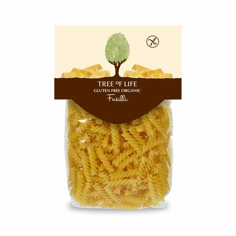 Packshot - Gluten Free Organic Fusilli by Tree of Life
