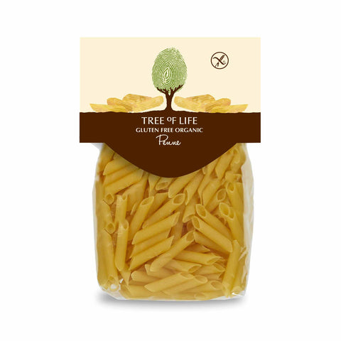Packshot - Gluten Free Organic Penne by Tree of Life
