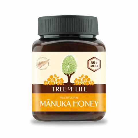 Packshot - Manuka Honey Multifloral 85+ MGO by Tree of Life