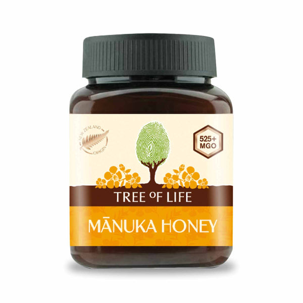 Packshot - Manuka Honey 525+ MGO by Tree of Life