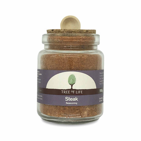Packshot - Steak Seasoning by Tree of Life