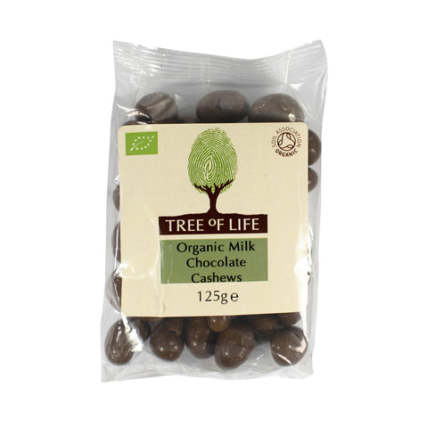 Organic Milk Chocolate Cashews