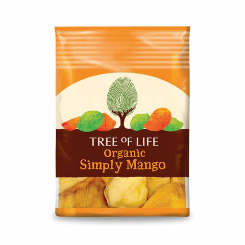 Packshot - Organic Simply Mango by Tree of Life