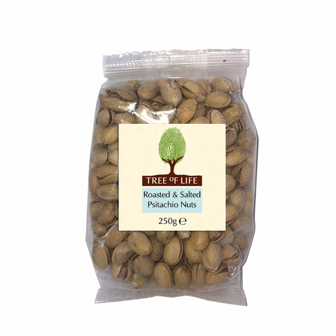 Packshot - Roasted & Salted Pistachio Nuts by Tree of Life