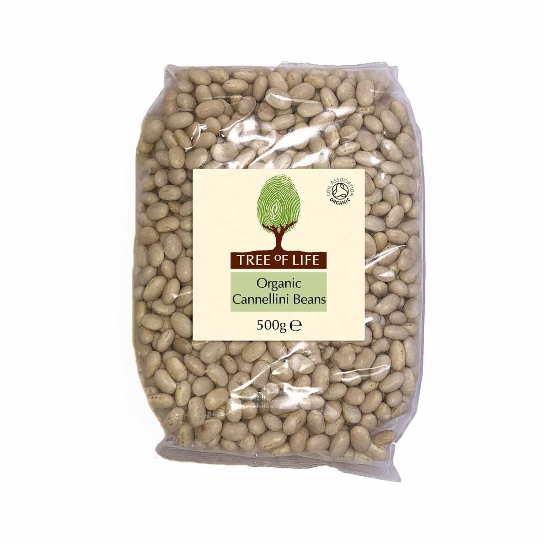 Packshot - Organic Cannellini Beans by Tree of Life