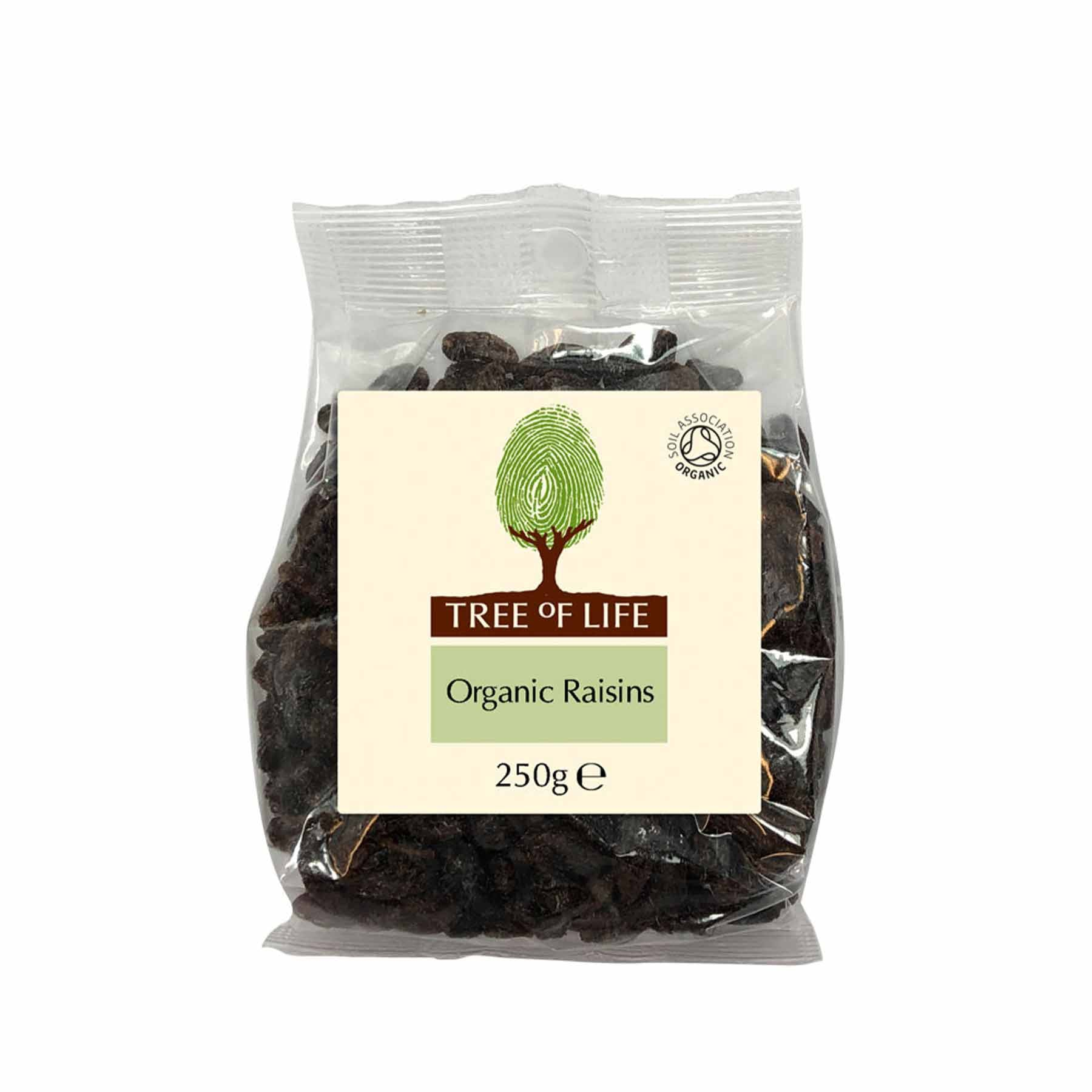 Packshot - Organic Raisins by Tree of Life