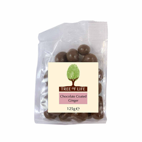 Packshot - Chocolate Coated Ginger by Tree of Life