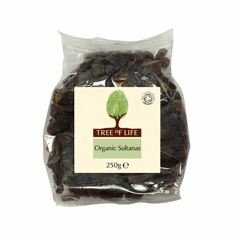 Packshot - Organic Sultanas by Tree of Life