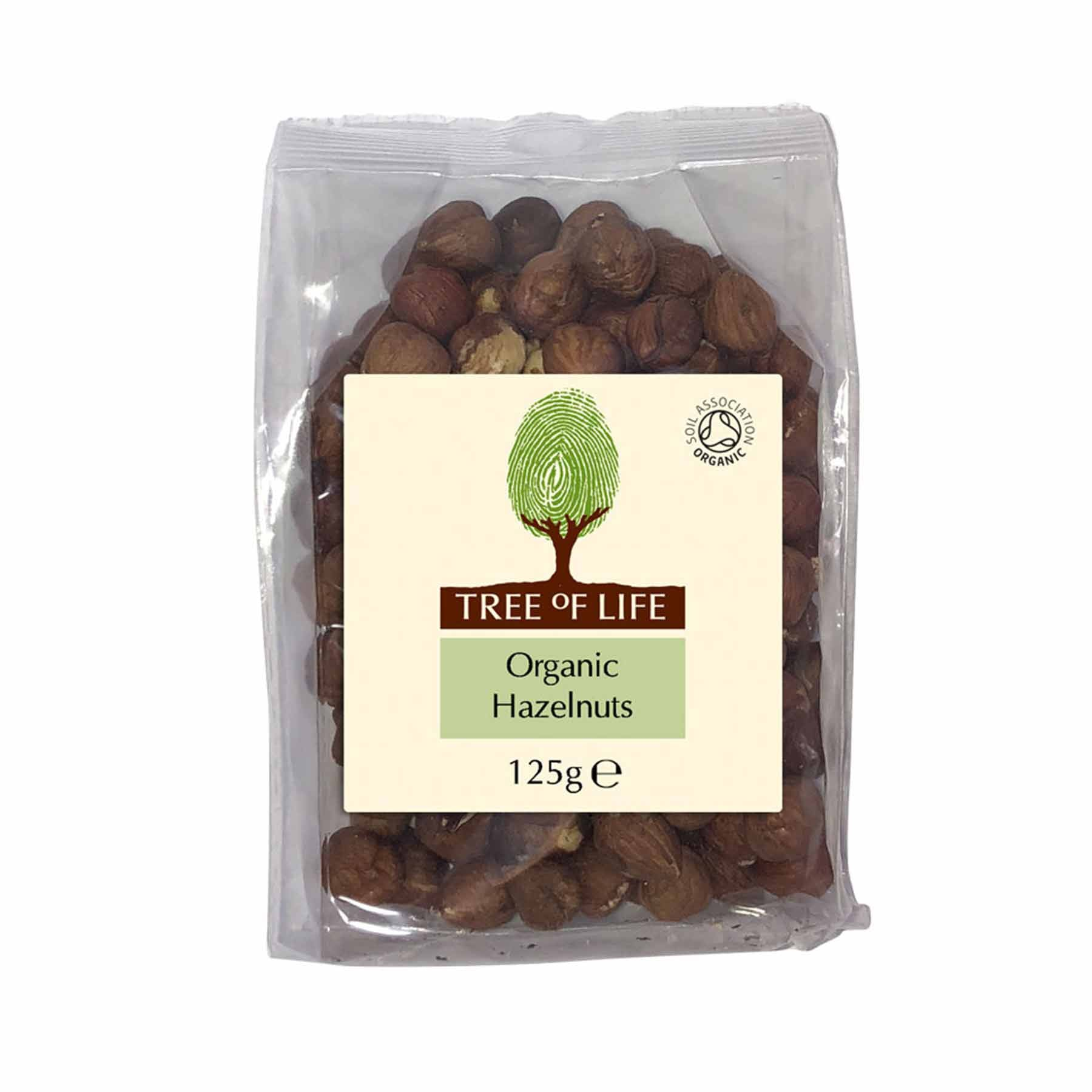 Packshot - Organic Hazelnuts by Tree of Life