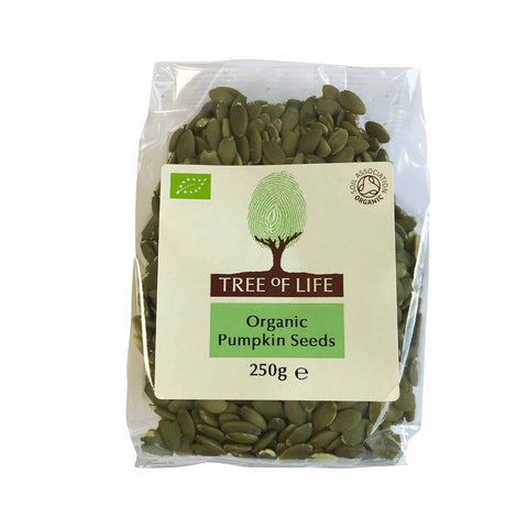 Packshot - Organic Pumpkin Seeds by Tree of Life