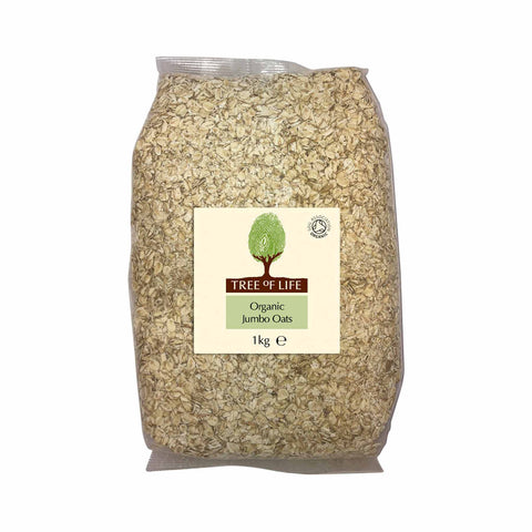 Packshot - Organic Jumbo Oats by Tree of Life