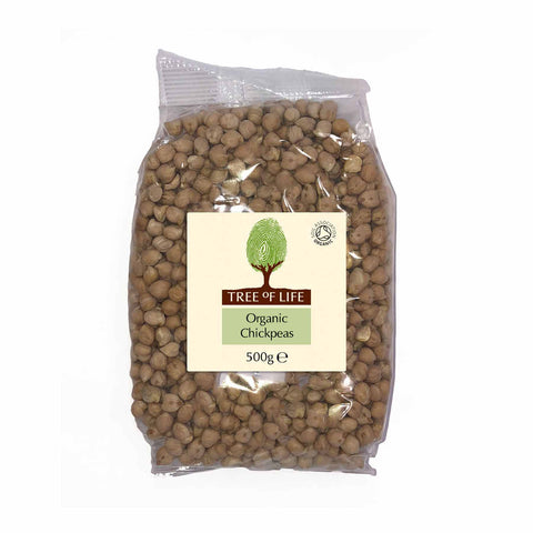 Packshot - Organic Chick Peas by Tree of Life