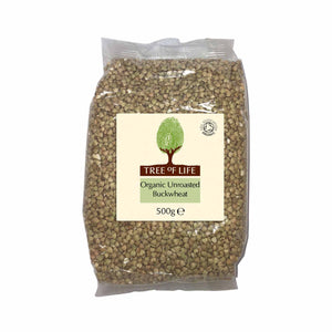 Packshot - Organic Unroasted Buckwheat by Tree of Life