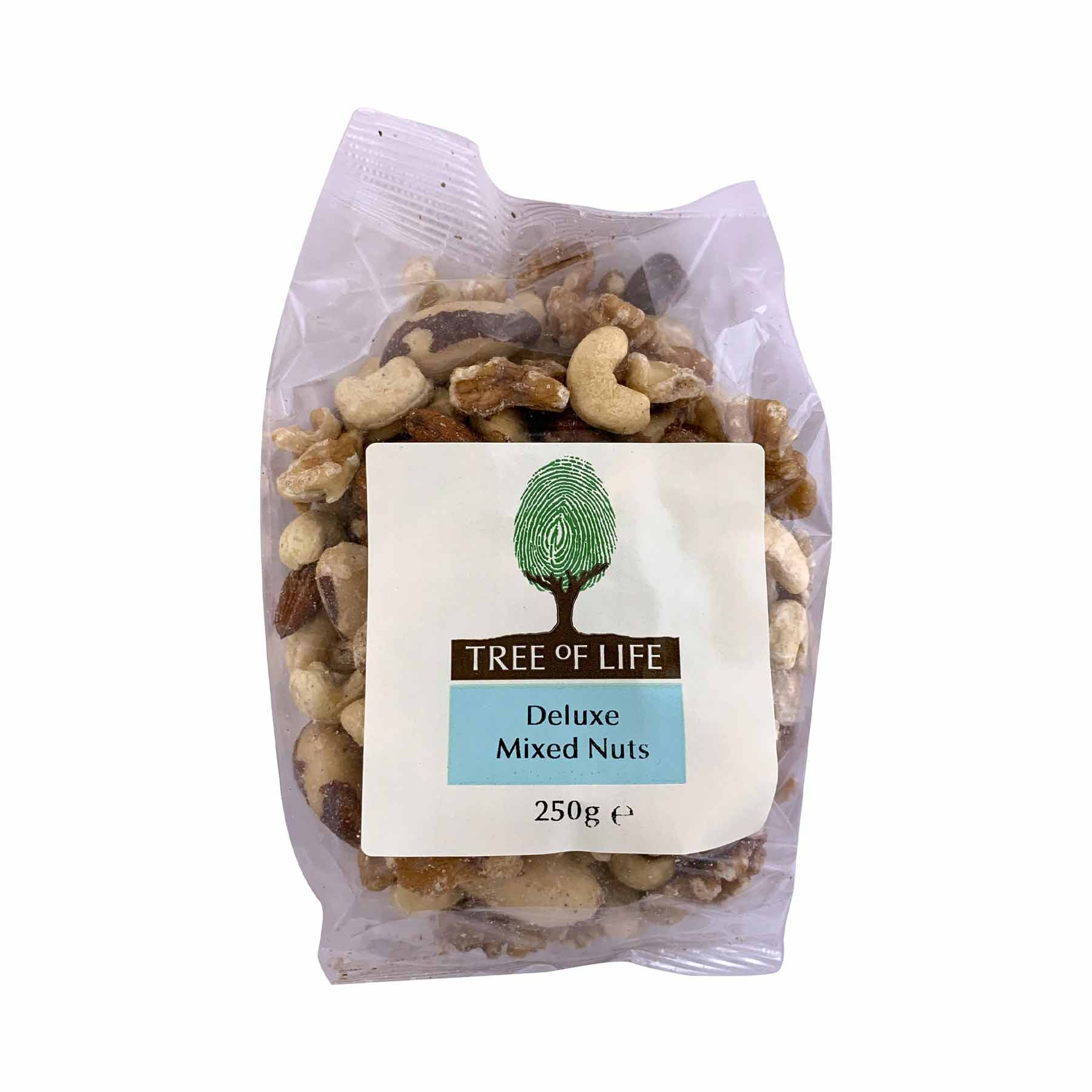Packshot - Deluxe Mixed Nuts by Tree of Life
