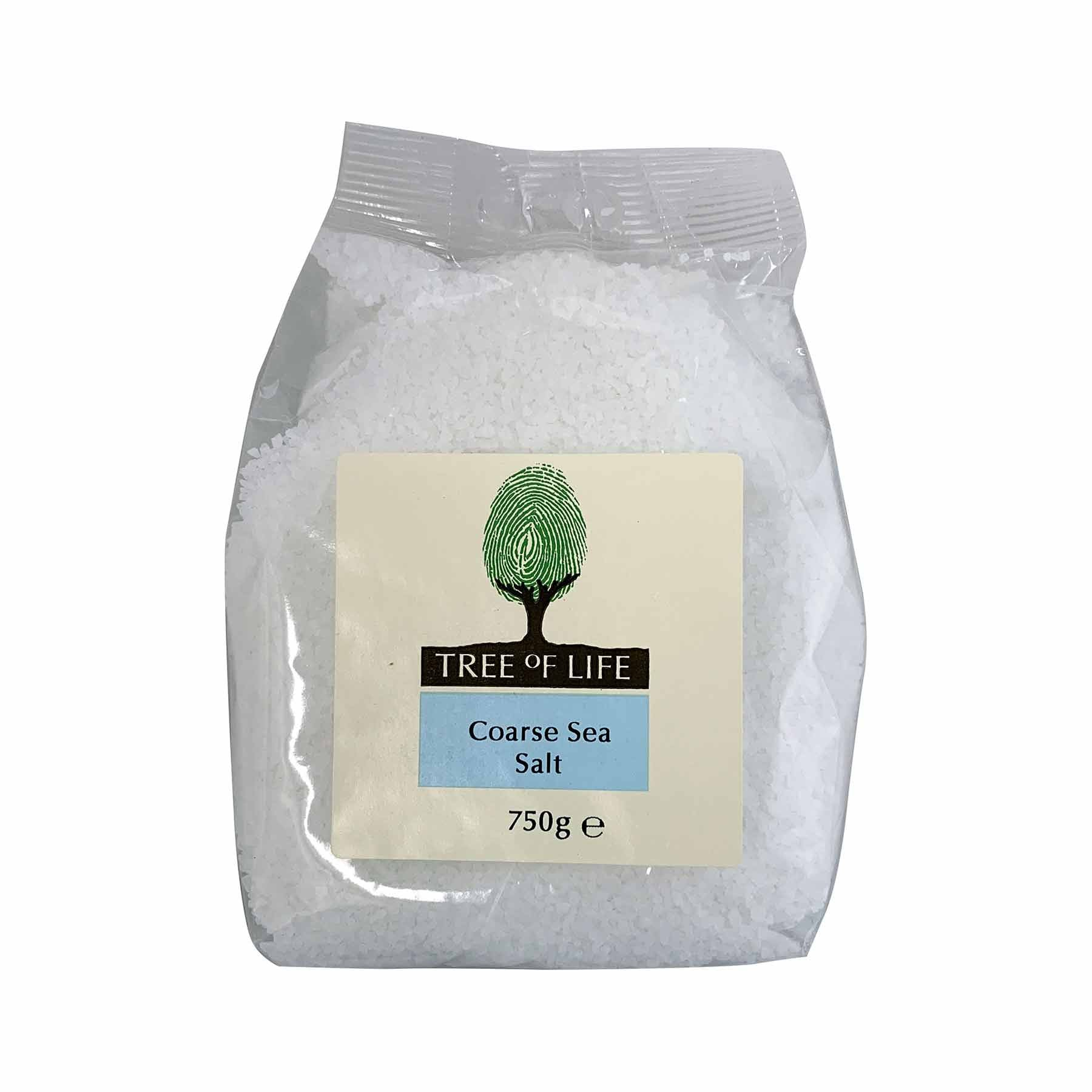 Packshot - Coarse Sea Salt by Tree of Life