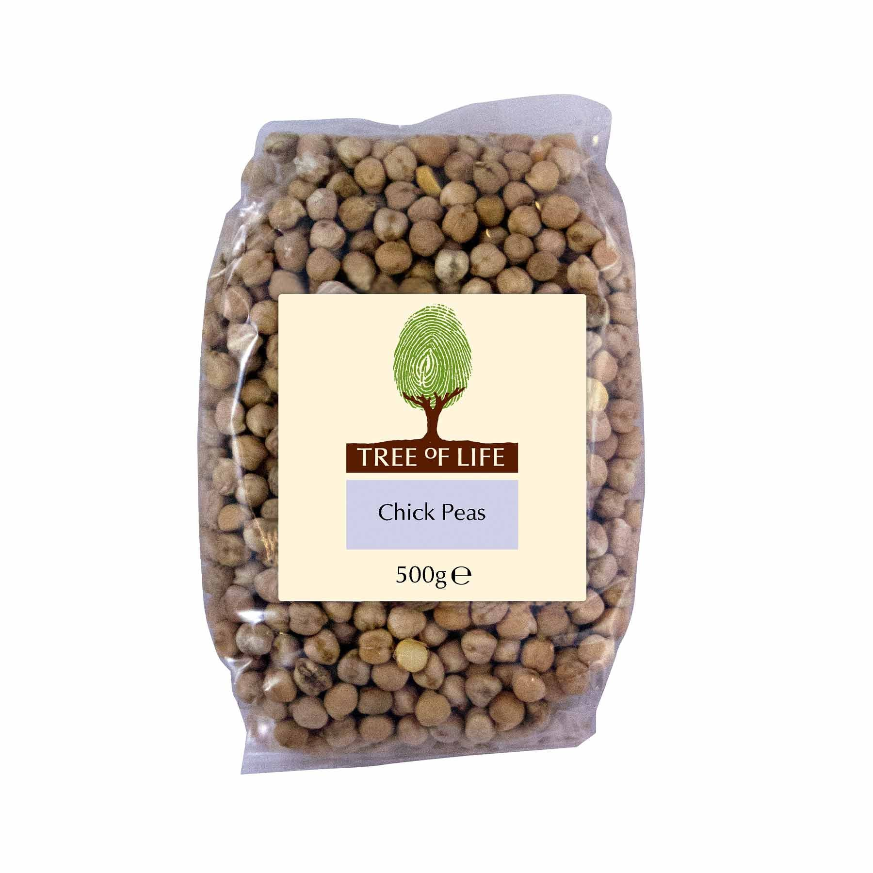Packshot - Chick Peas by Tree of Life