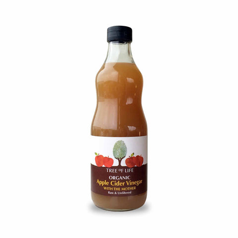 Packshot - Organic Apple Cider Vinegar With The Mother by Tree of Life