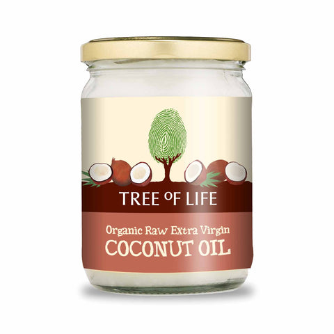 Packshot - Organic Raw Extra Virgin Coconut Oil by Tree of Life