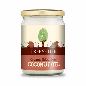 Packshot - Organic Odourless Coconut Oil by Tree of Life