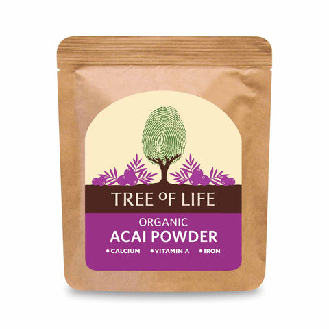 Packshot - Organic Acai Powder by Tree of Life