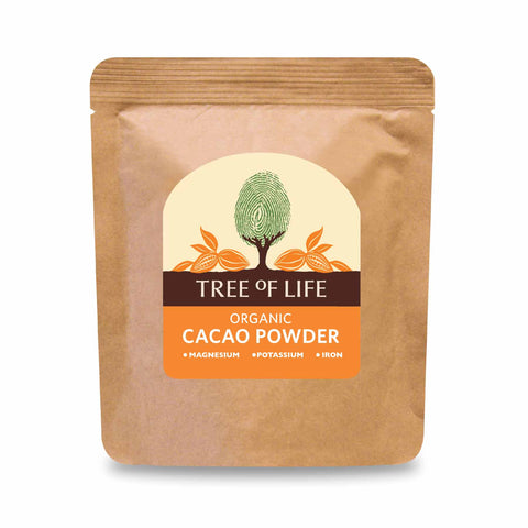 Packshot - Organic Cacao Powder by Tree of Life