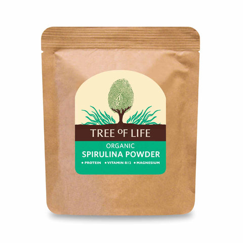 Packshot - Organic Spirulina Powder by Tree of Life