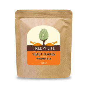Packshot - Nutritional Yeast Flakes + B12 by Tree of Life