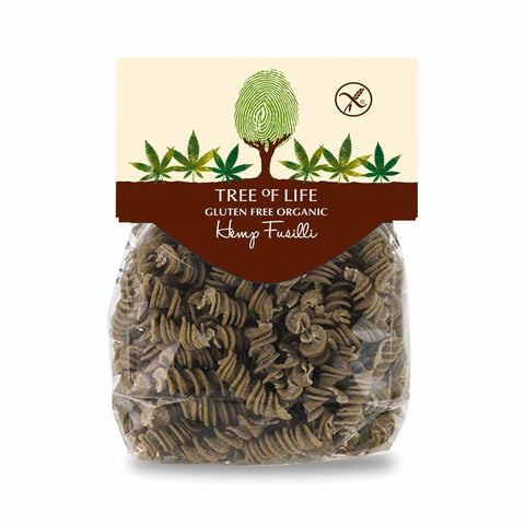 Packshot - Organic Hemp Fusilli by Tree of Life