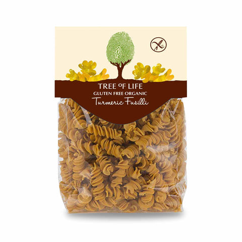 Packshot - Organic Turmeric Fusilli by Tree of Life
