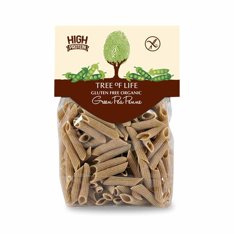 Packshot - Organic Green Pea Penne by Tree of Life