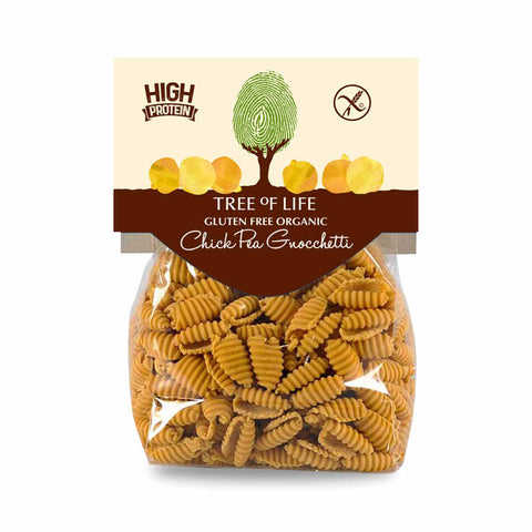Packshot - Organic Chick Pea Gnocchetti by Tree of Life