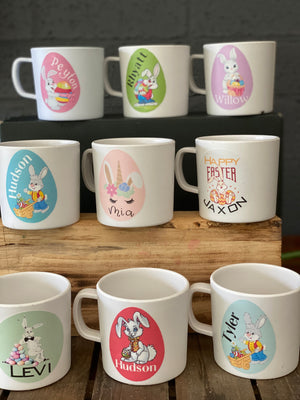 Easter Decal Personalised Mug